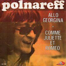 VINYLE 45 TOURS POLNAREFF ALLO GEORGINA SG 299 FR 1971 SINGLE 7