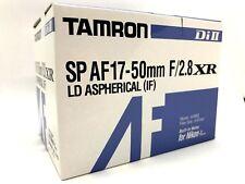 New TAMRON SP AF 17-50mm f/2.8 XR Di II Lens [A16] - Nikon F