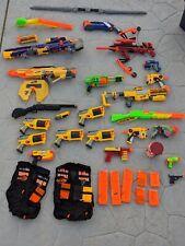 Massive Nerf Gun Arsenal! 20+ Guns Rifles Blasters Vests and More!