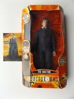 Doctor Who Action Figure Signed by Russell T. Davies Postcard by David Tennant