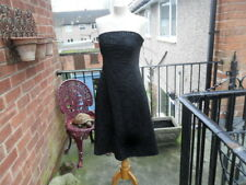 Beautiful Coast beaded evening dress Size 10 Strapless Excellent condition