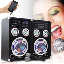 Skytec Active Pro Audio PA Speakers