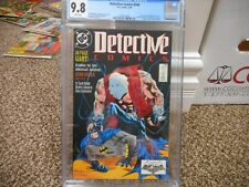 Detective 598 cgc 9.8 DC 1989 80 pg giant pin-ups BLACK cover WHITE pgs MINT
