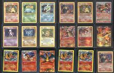 POKEMON 15 CARD LOT HOLOGRAPHIC HOLO FOILS, 1ST EDITIONS, SHADOWLESS, CHARIZARD