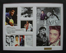 Elvis Limited Edition Signature Framed Memorabilia (w)