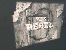 THE REBEL NICK ADAMS as JOHNNY YUMA 16mm B/W Film Sound RARE ABC 1959 Western