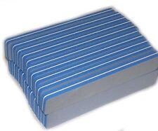 25 x PROFESSIONALE bufferfeilen 220/220, 175x30x10mm / Lima Lucidante Buffer
