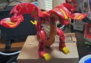 "Bakugan Battle Brawlers Red Pyrus Neo Dragonoid Deluxe 6"" Action Figure"