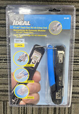 Ideal Industries Ft 45 Feed Thru Crimp Tool Model 30 495