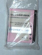 2 POWER Batterie Téléphone  LG : HB620t  - KU990  Viewty -  LGIP-580A
