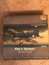 HOBBY MASTER F2A-3 Buffalo VMF-221, Midway, June 1942, Scale 1:48 HA7007 Limited