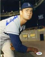 Don Drysdale Psa Dna Coa Autograph 8x10 Photo  Hand Signed Authentic