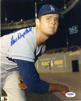Don Drysdale Psa Dna Coa Autograph 8x10 Photo  Hand Signed Authentic