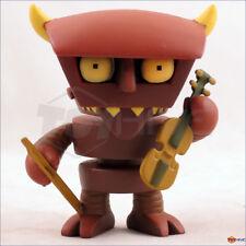 """Kidrobot Futurama 3"""" collection Robot Devil series 1 rare chase 1/96 - displayed"""