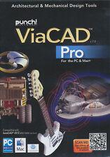 Punch ViaCAD PRO v7.0 7 - Professional CAD Software PC & Mac NEW *Save $ on V 10