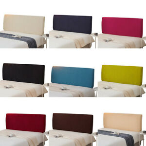 Dustproof Bedroom Headboard Slipcover Stretch Bed Head Spread Protector Cover