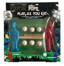 Footie Pops Football Player Lollipops & Gumballs Sweet Candy Sweets Set
