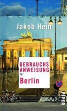 Gebrauchsanweisung für Berlin von Jakob Hein (2015, Taschenbuch)