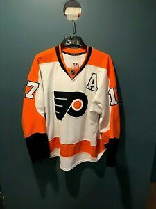 Authentic Wayne Simmonds Philadelphia Flyers Reebok Edge 2.0 Away Jersey - 52