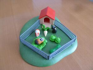 playmobil meerschweinchen mit haus und Zubehör