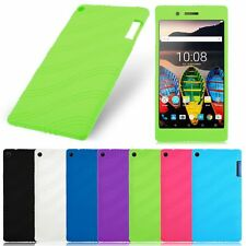 """TPU Silicone Rubber Soft Case Cover For 7"""" Lenovo Tab3 7 TB3 730M/F Tablet 7inch"""