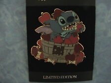 STITCH FALL COLLECTION CALLED APPLES DISNEY LE SURPRISE PIN RELEASED AT WDW