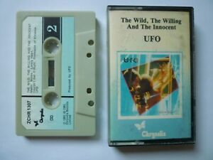 --- (Cassette tape) * UFO * THE WILD, THE WILLING AND THE INNOCENT * Album ---