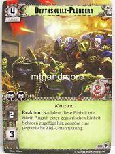 Warhammer 40000 Conquest LCG-deathskullz-plündera #009 - schwarzmähners guerra