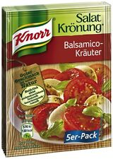 8 x 5 Pck.KNORR Balsamico Krauter ( Salad Herbs and Balsamic ) New from Germany