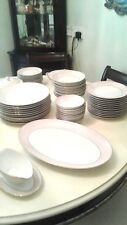 Vintage China Dinner and Tea Service Circa fifties (81 PIECES)