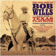 Bob Wills And His Texas Playboys Very Best Of 2-CD NEW SEALED 2021 Country