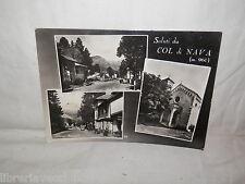 Vecchia cartolina foto d epoca di Col di Nava via Nazionale chiesella albergo