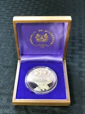 1978 Singapore $10 Dollar Proof with Original Case Lot#B813 Silver!
