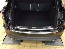 For Porsche Cayenne 2018-2019 Steel Outer Bumper Protector Sill Trunk Trim 1pcs