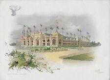 World's Columbian Exposition 1893 Glover & Durrett. Tobacco Warehouse Orcutt Pub