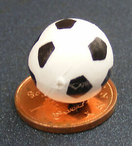1:12 Scale Plastic Toy Foot Ball Tumdee Dolls House Nursery Game Accessory