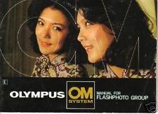 OLYMPUS MANUAL FOR FLASH GROUP Engl. Edition