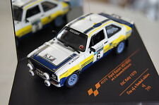 Ford escort rs 1800 rac rally 1979 #6 1:43 vitesse NOUVEAU & OVP