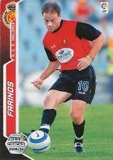 N°226 FARINOS # RCD.MALLORCA INTER CARD PANINI MEGACRACKS LIGA 2006