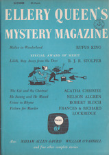Ellery Queen's Mystery Mag Oct 1957 - Agatha Christie, Robert Bloch, Rufus King