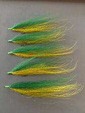 Bucktail River Streamer Flies- Hand Tied - Walleye, White Bass, Salmon (425)
