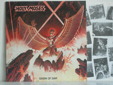 """HOLY MOSES Queen Of Siam LP 12"""" Original Aaarrg  inc A4 company letter"""