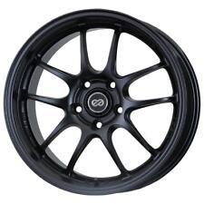 "18"" Enkei PF01 Wheel Black 18x9 5x114.3 5x4.5 45mm 460-890-6645BK"
