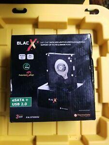 Thermaltake ST0005U BlacX 2.5/3.5inch SATA HDD eSATA/USB Docking Station F1