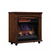 Lifesmart Large Deluxe Mantle Portable Electric Infrared
