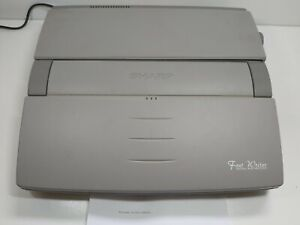 Sharp FW-710 Font Writer Personal Word Processor Tested Working