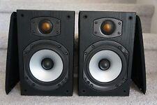 Monitor Audio Bronze 1 B1  Bookshelf Speakers Black