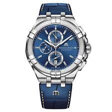 Maurice Lacroix AI1018-SS001-430-1 Men's Aikon Chronograph Wristwatch
