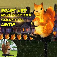 Garden Decor Lights Squirrel Solar Lawn Stake Light Decor Outdoor Waterproof ,