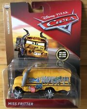 CARS 3 - MISS FRITTER -  Mattel Disney Pixar